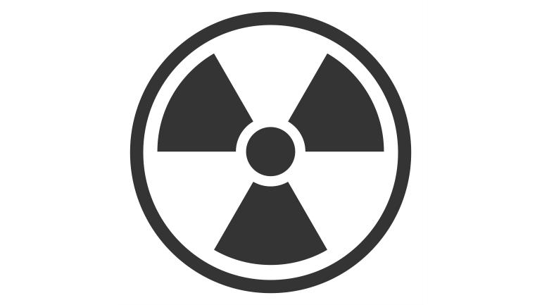 Radioaktivt merke for ionisk røykvarsler
