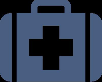 ikon av førstehjelpsskrin