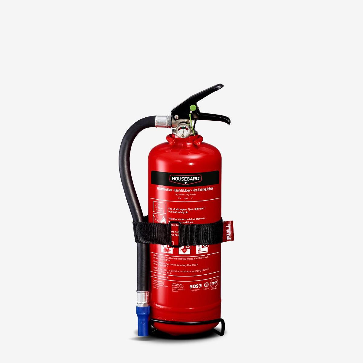 Pulverapparat fra Housegard